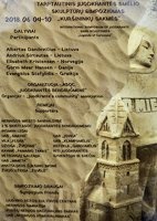 Kuršininkų sakmės · smėlio skulptūros, skelbimas 2018-06