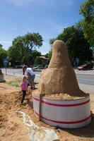 Albertas Danilevičius · smėlio skulptūra 2861