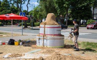 Andrius Sirtautas · smėlio skulptūra 2561