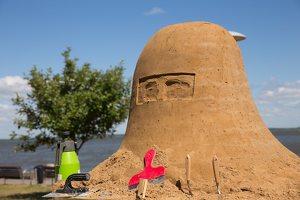 Andrius Sirtautas · smėlio skulptūra 2660