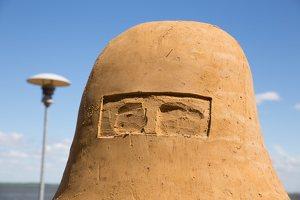 Andrius Sirtautas · smėlio skulptūra 2661