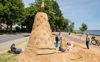 Andrius Sirtautas · smėlio skulptūra 2856
