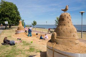 Andrius Sirtautas · smėlio skulptūra 2857