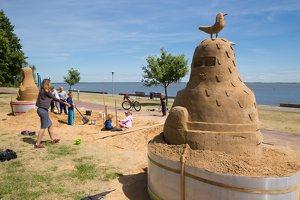 Andrius Sirtautas · smėlio skulptūra 2858