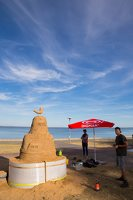 Andrius Sirtautas · smėlio skulptūra 3164