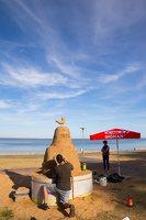 Andrius Sirtautas · smėlio skulptūra 3165