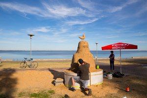 Andrius Sirtautas · smėlio skulptūra 3166