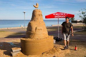 Andrius Sirtautas · smėlio skulptūra 3176
