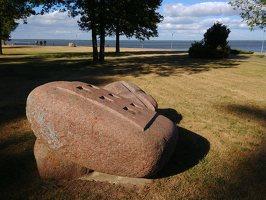 ~Akmens skulptūrų parkas Juodkrantėje · Žemė ir vanduo
