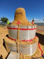 Andrius Sirtautas · smėlio skulptūra 153843
