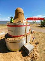 Andrius Sirtautas · smėlio skulptūra 153856