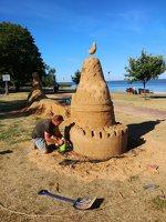 Andrius Sirtautas · smėlio skulptūra 181009