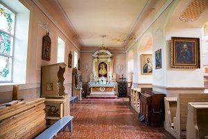 Lyduokių Šv. arkangelo Mykolo bažnyčia 4545 · interjeras