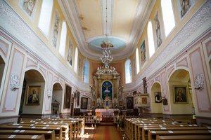 Lyduokiai · dvaras ir bažnyčia