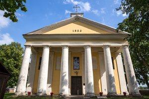Šventupė - Vidiškiai · dvaras ir bažnyčia