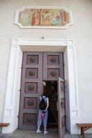 Taujėnų Šv. Kryžiaus Išaukštinimo bažnyčia 4605 · durys