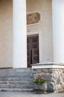 Taujėnų Šv. Kryžiaus Išaukštinimo bažnyčia 4613 · kolonos