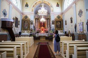 Taujėnų Šv. Kryžiaus Išaukštinimo bažnyčia 4616 · interjeras