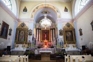 Taujėnų Šv. Kryžiaus Išaukštinimo bažnyčia 4617 · interjeras