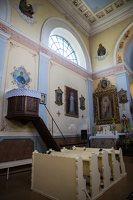 Taujėnų Šv. Kryžiaus Išaukštinimo bažnyčia 4619 · sakykla