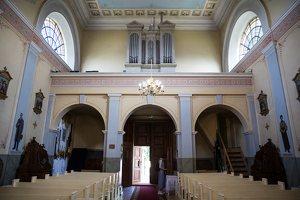 Taujėnų Šv. Kryžiaus Išaukštinimo bažnyčia 4622 · interjeras