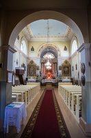 Taujėnų Šv. Kryžiaus Išaukštinimo bažnyčia 4629 · interjeras