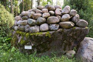 Taujėnų dvaras 4676 · akmenų parkas