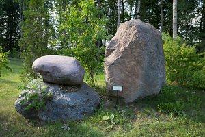 Taujėnų dvaras 4678 · akmenų parkas