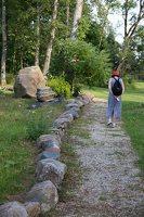 Taujėnų dvaras 4700 · akmenų parkas