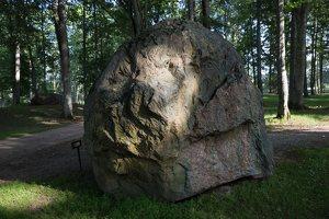 Taujėnų dvaras 4755 · parkas, akmuo
