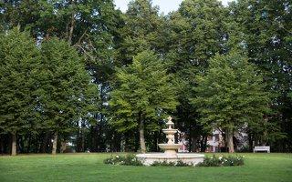 Taujėnų dvaras 4809 · parko fontanas