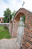 Siesikų Šv. apaštalo Baltramiejaus bažnyčia 4887 · vartai