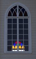 Semeliškių Šv. Lauryno bažnyčia · langas 4931