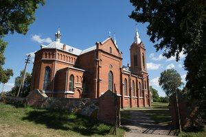 Žaslių Šv. Jurgio bažnyčia 4986