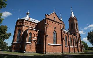 Žaslių Šv. Jurgio bažnyčia 4988