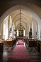 Žaslių Šv. Jurgio bažnyčia 4993 · interjeras