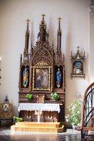 Žaslių Šv. Jurgio bažnyčia 5003 · interjeras