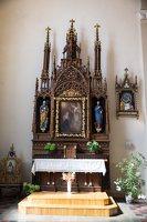 Žaslių Šv. Jurgio bažnyčia 5007 · interjeras