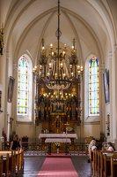 Žaslių Šv. Jurgio bažnyčia 5009 · interjeras