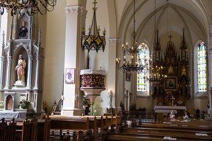 Žaslių Šv. Jurgio bažnyčia 5010 · interjeras