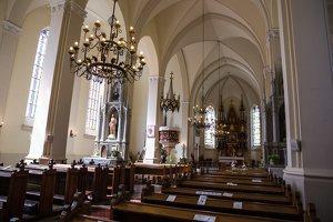 Žaslių Šv. Jurgio bažnyčia 5011 · interjeras