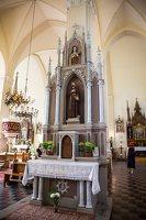 Žaslių Šv. Jurgio bažnyčia 5013 · interjeras