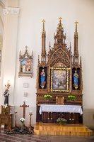 Žaslių Šv. Jurgio bažnyčia 5016 · interjeras