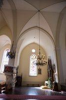 Žaslių Šv. Jurgio bažnyčia 5020 · interjeras