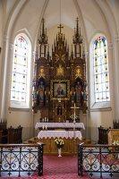 Žaslių Šv. Jurgio bažnyčia 5023 · interjeras