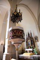 Žaslių Šv. Jurgio bažnyčia 5028 · interjeras