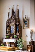 Žaslių Šv. Jurgio bažnyčia 5029 · interjeras