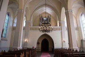 Žaslių Šv. Jurgio bažnyčia 5030 · interjeras