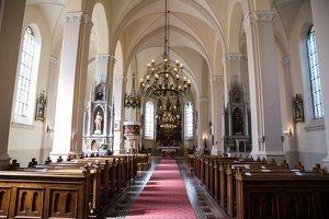 Žaslių Šv. Jurgio bažnyčia 5037 · interjeras
