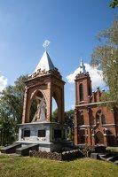 Žaslių Šv. Jurgio bažnyčia 5042 · šventorius